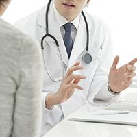 「診察する=治療する」ではありません イメージ